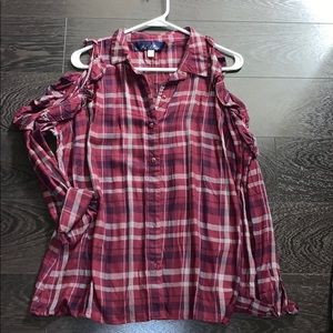 FRANCESCAS FLANNEL - NEVER WORN